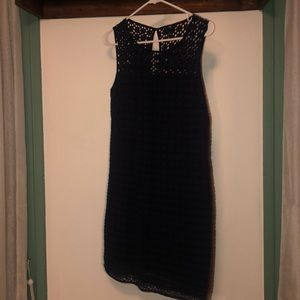 Navy Gap dress